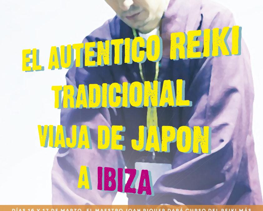 Reiki directo de Japón en Ibiza