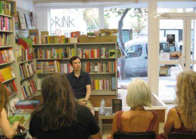 Presentacion del libro, la verdad sobre el Reiki, en la libreria Mediterrània de Ibiza