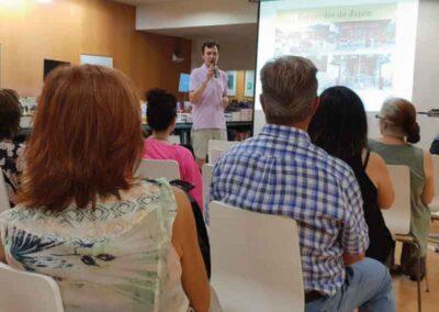 Presentacion de Aokigahara en la casa del libro de Barcelona