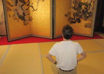 En nuestros viajes a Japón realizamos ceremonias en lugares especiales.