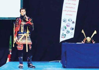 Ponencia sobre Reiki en la feria Magic Internacional
